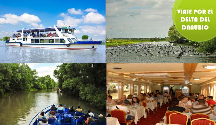 Viaje para grupos por el Delta del Danubio