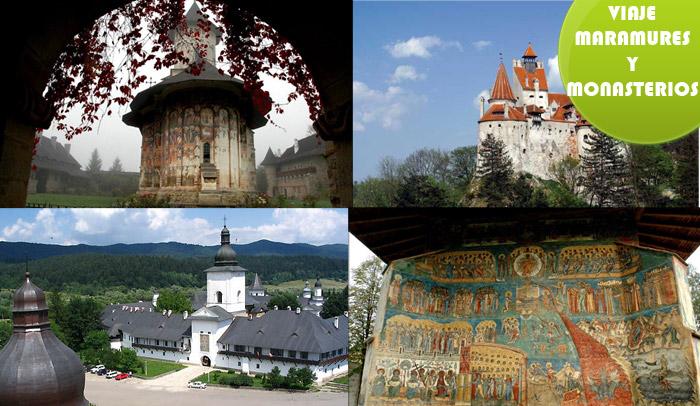 Viaje por los monasterios de Bucovina y Maramures