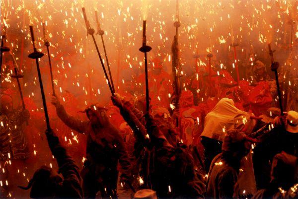Diables, uno de los espectáculos que se verán en Timisoara. Foto Adifolk