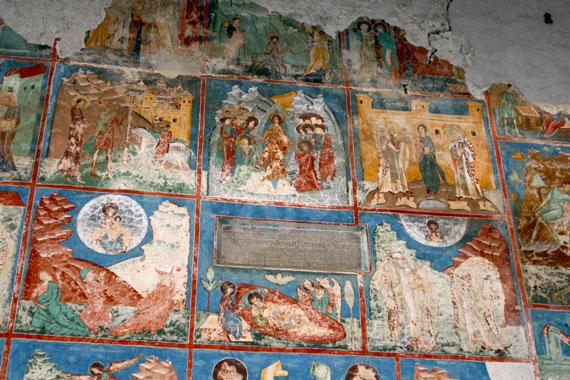 Frescos de la iglesia de Arbore