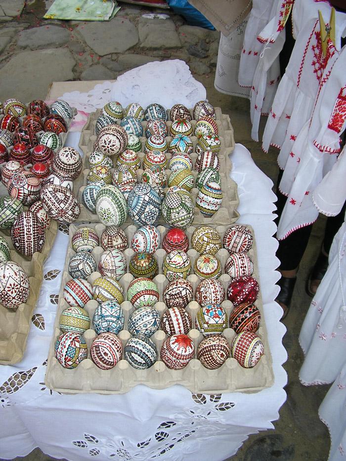 Huevos de Pascua en Rumanía