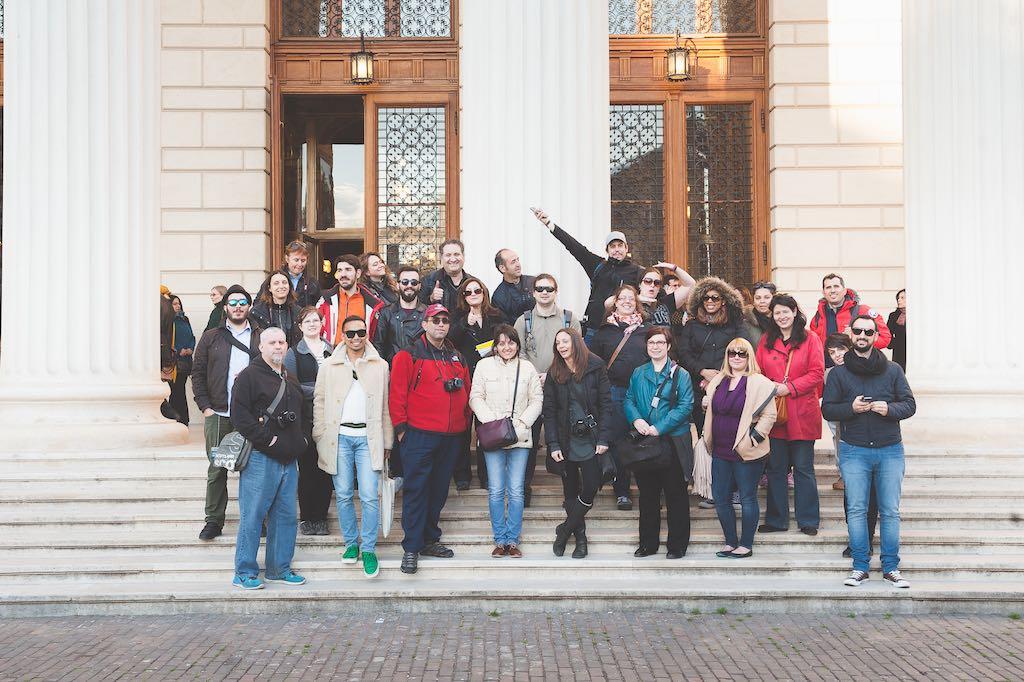 Foto de conjunto de los bloggers y los organizadores. ¡Gracias Eventur! Foto de ©Alin Popescu, Gracias Alin.