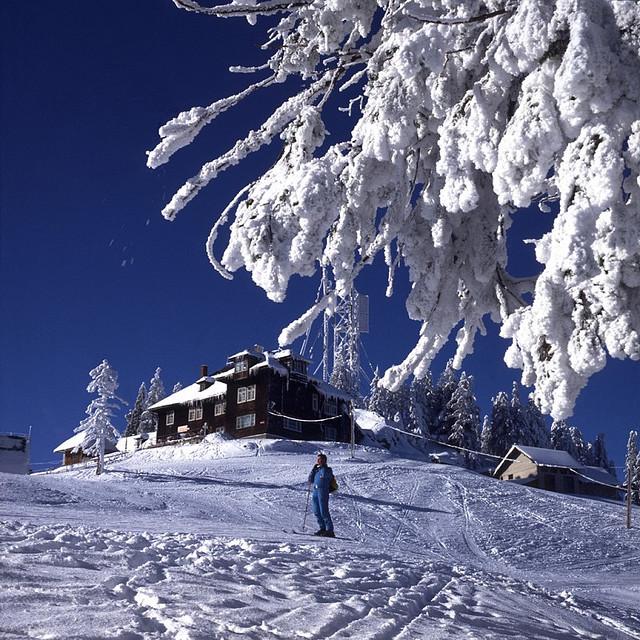 La estación de esquí de Poiana, una de las más famosas de Rumanía.