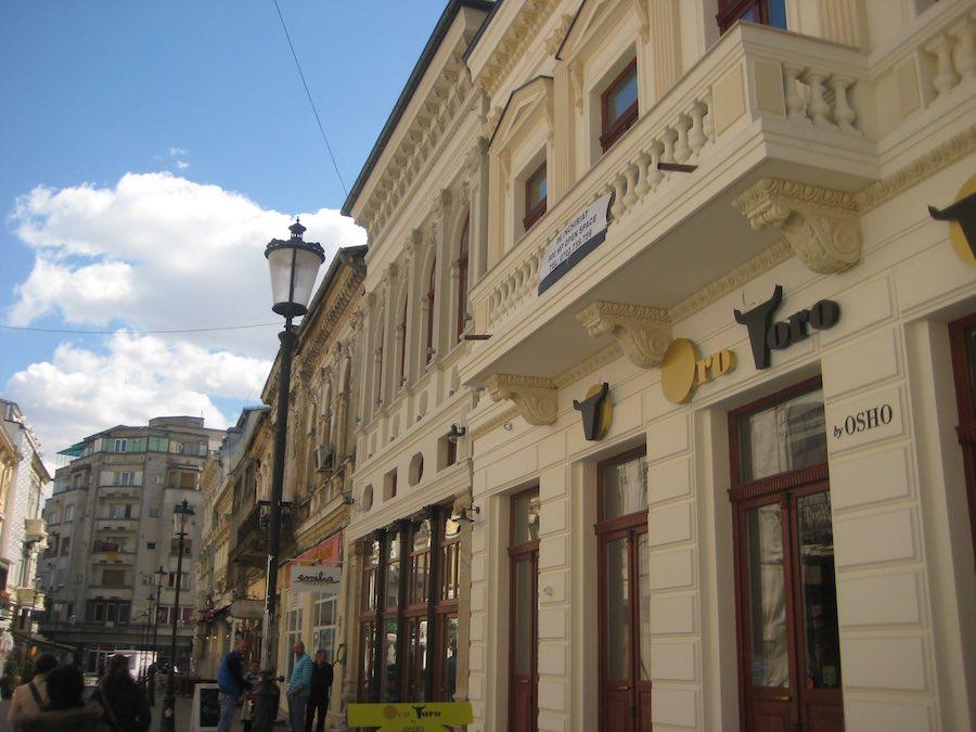 Edificio en el casco antiguo de Budapest, concretamente, en el barrio de Lipscani. ©Iñigo Pedrueza.