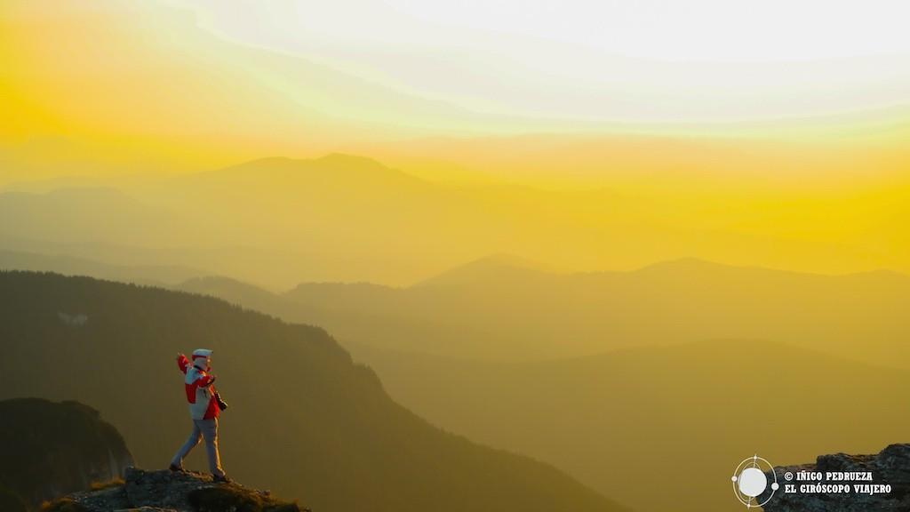 Los Montes Cárpatos, que recorren cientos de kilómetros de Rumanía, regalándonos parajes de gran belleza. ©Iñigo Pedrueza.