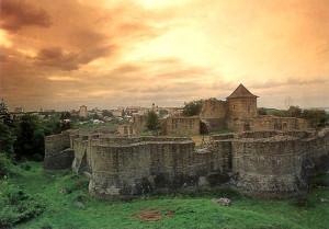 Ciudadela del castillo de Suceava