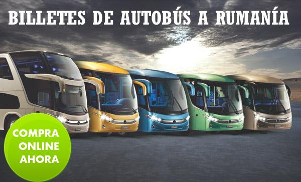 Autobuses desde España a Rumanía