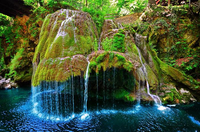 Cascada Bigar en Rumanía