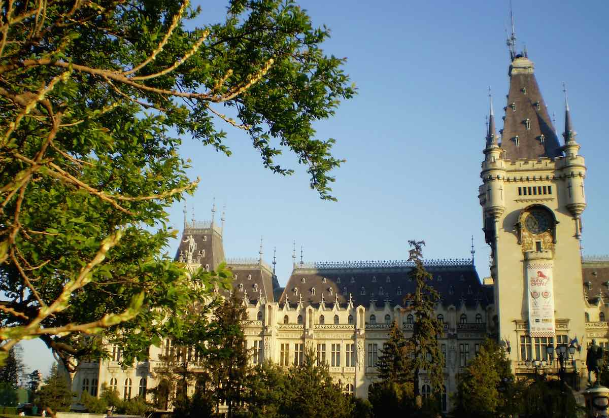Iasi, la capital de la Moldavia rumana.