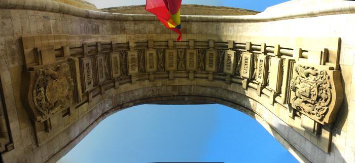 Decoración del Arco del Triunfo