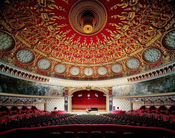 Sala de conciertos del Ateneo Rumano