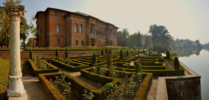 Jardines del Palacio Mogoşoaia