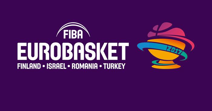Eurobasket 2017 que se celebra en Cluj - Rumanía y otras tres sedes